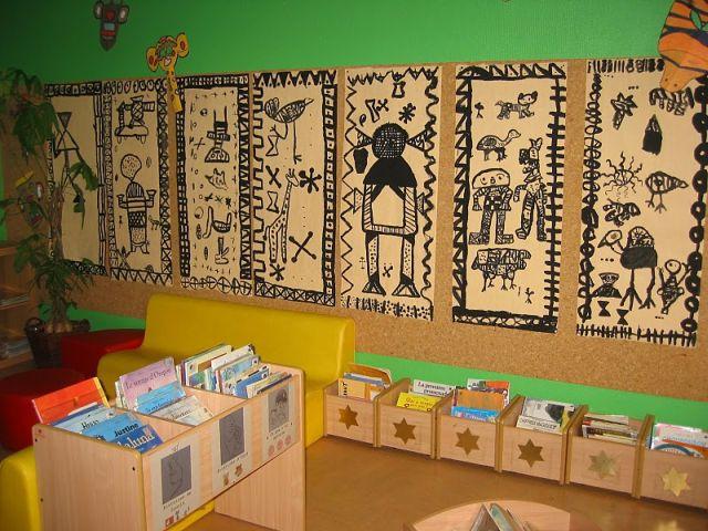 art africain a l'ecole